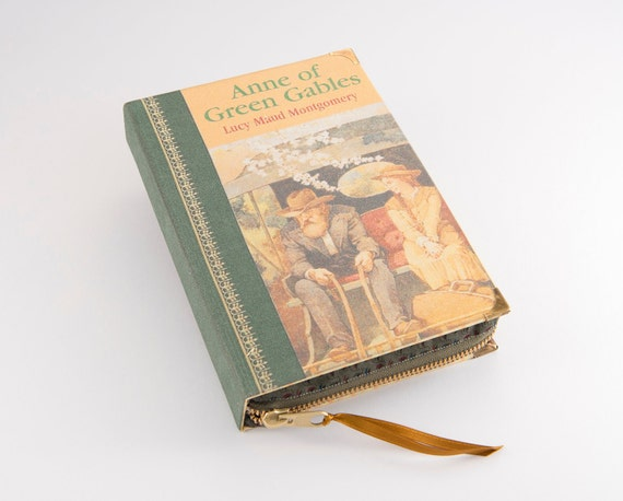 Anne of Green Gables book Clutch