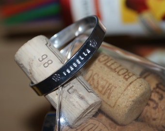 Personalized Cuff Bracelet (Adult Size)