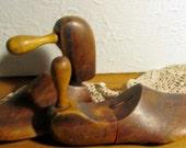 Reserved - Vintage  Wooden Shoe Forms - Celeste