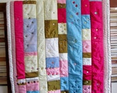 Buttons on Taffeta Art Quilt
