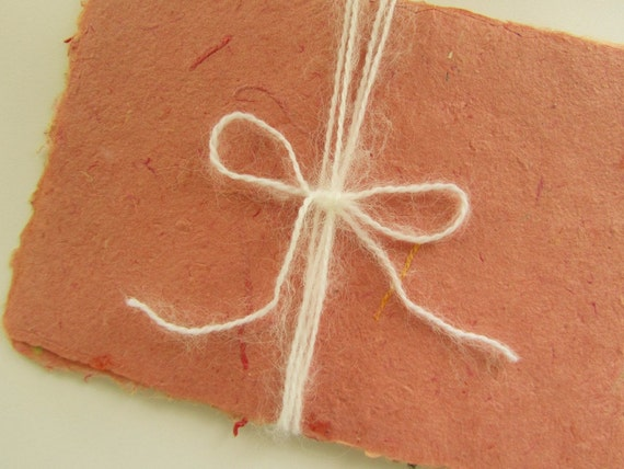 Handmade Paper - Natural & Recycled - Copper Brick