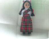 Vintage Scottish nationality doll