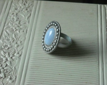 Upcycled Dauplaise silver adjustable ring