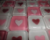 Heart Soap Favors, special price for 50