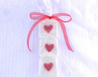 Red Heart Glycerin Soap Favors