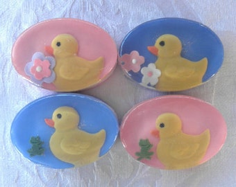 Children's Duck Soap Favors for rubber ducky theme 12