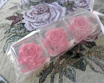 Rose Gift Soap, thank you, weddings, tea