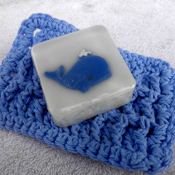 Whale Soap for baby shower, boy, birthday