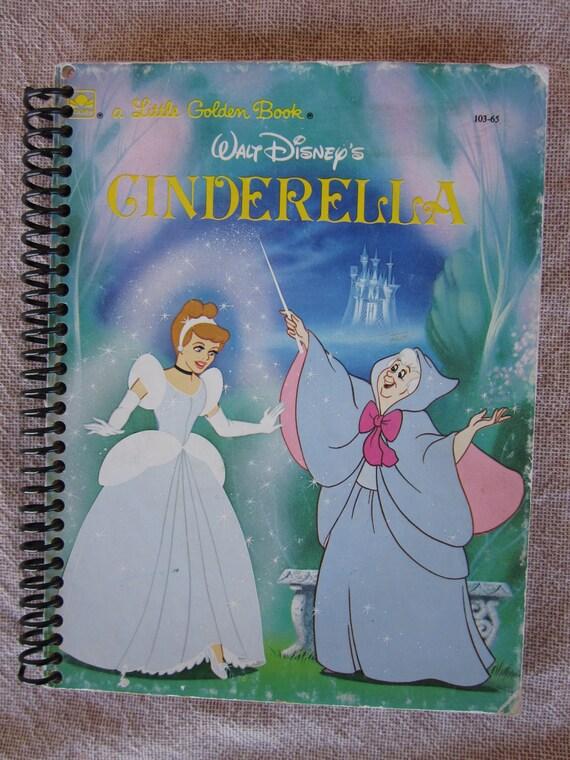 Cinderella Journal/Autograph book made from a well-loved Little Golden Book