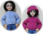 "Sweater & Hat PATTERN for 12"" Senson / Kish Sent PDF Format"
