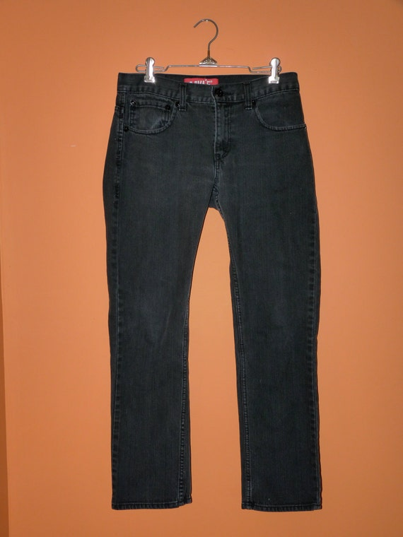 Levis 511 Black Skinny Jeans Size 28 x 28