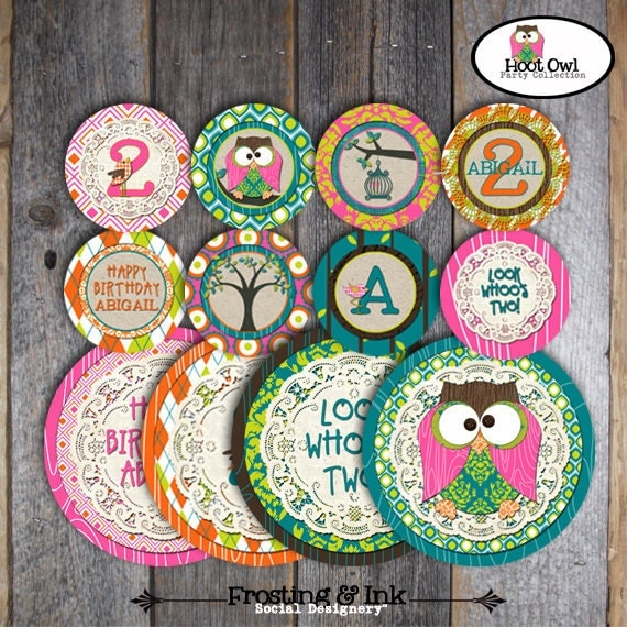Birthday Party Games Are Hilarious For 8 9 10 11 And 12: Owl Party Pin The Eyes On The Owl Game Hoot By Frostingandink