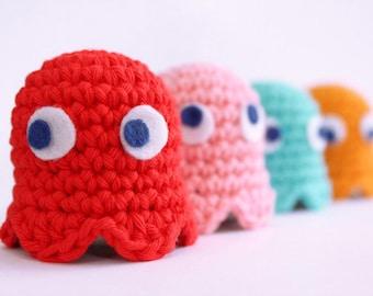 Pacman Ghost crochet pattern