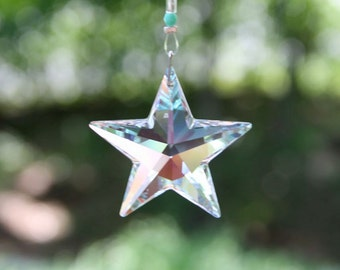 Swarovski Crystal Star Suncatcher