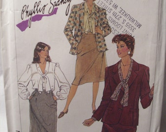 Vintage Simplicity sewing pattern 7054, size: 161/2, bust 39