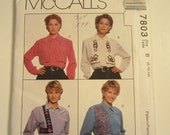 UNCUT McCall's 7803 creative womens sewing pattern