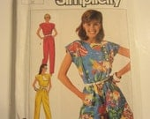UNCUT Simplicity 7433 womens sewing pant pattern