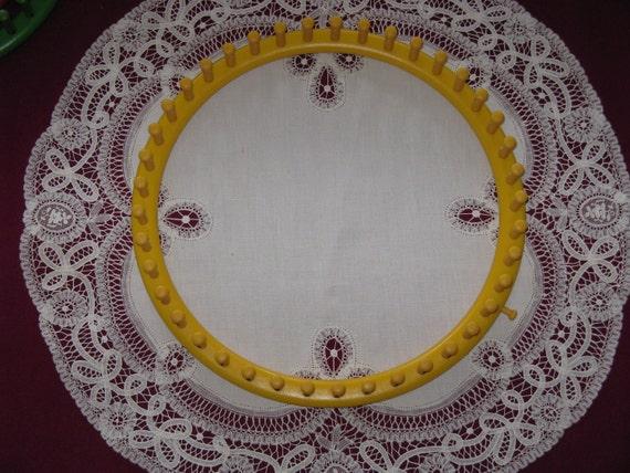 round knitting loom instructions
