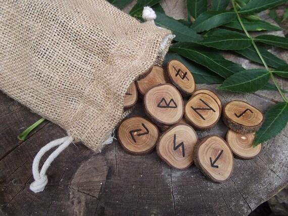 Ash Wood Rune Set