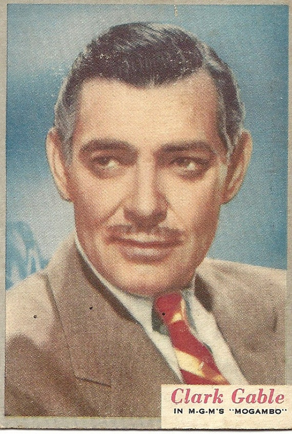 Clark Gable Trading Card