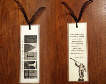 Personalized Bookmark-2 sided