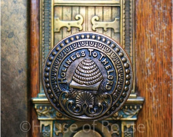 LDS Salt Lake Temple Knob-11x14