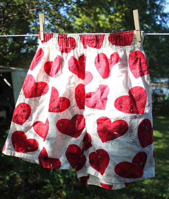 These knit boxer shorts have a soft t-shirt feel and are patterned all over with