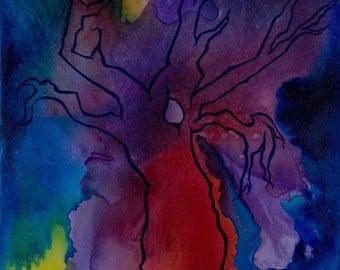 Untitled Tree Original Painting