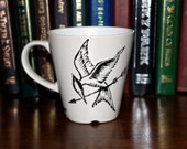 Hunger Games inspired Cup Mocking Jay