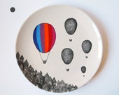 Stripes Balloon Wall Hanging Plate