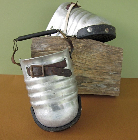 Unusual  Metal Lumber Jack Toe Covers