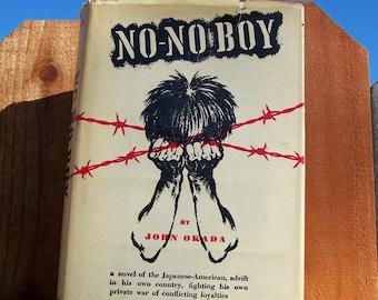 "Vintage 1957  "" NO-NO BOY"" Book in Hardback by the Author John Okada Rare Find"