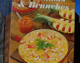 """Vintage 1966 """"BREAKFASTS & BRUNCHES"""" Cook Book by Sunset Books"""