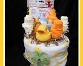 Baby Love Bath Time Garden Cake