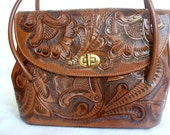 Vintage Leather Purse Made in Mexico