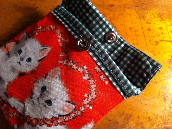 kitten coin purse