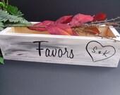 Rustic Wedding Favor Box