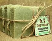 Seaweed Soap - Spa Soap - Lime Natural Soap