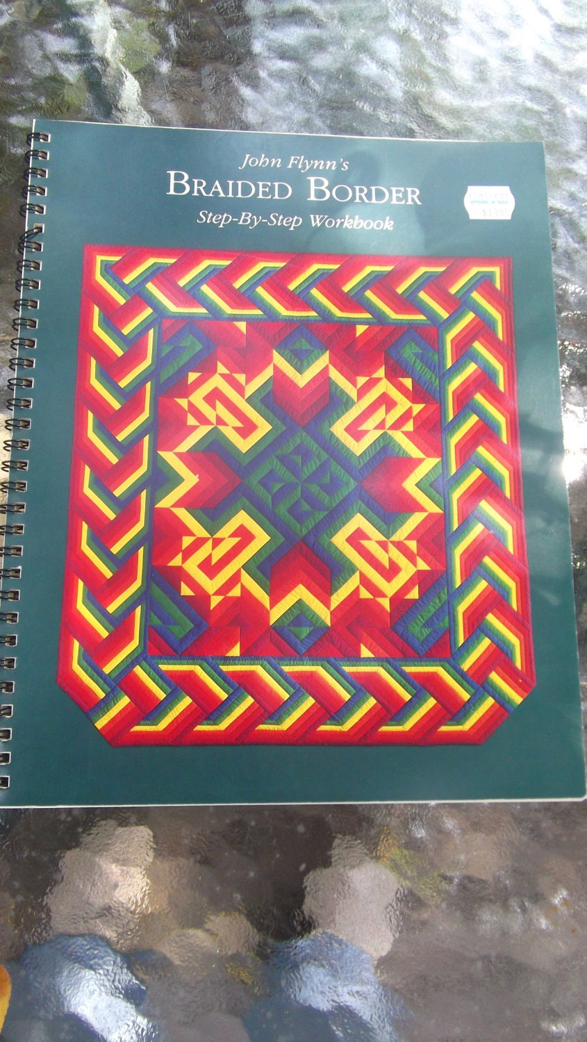 Braided Quilt Border Pattern Home : Braided Borders Quilting Work Book by DotsPockets on Etsy
