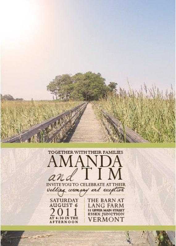 Path Tree Wedding Invitations : InkOVERpaper Invitations