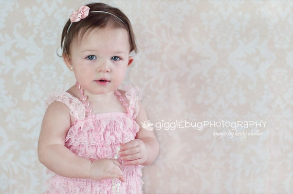 TEN Lace petti rompers - 2T-3T - Photography Prop - With or without straps