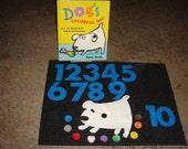 Dog's Colorful Day Felt Story Set