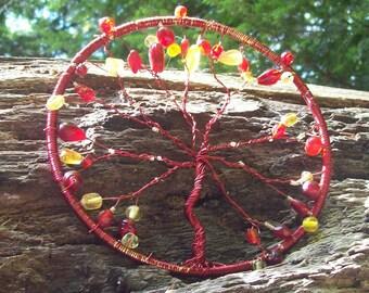 On Sale! Tree of Life Sun Catcher, Window Ornament