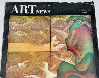 February 1948 ART NEWS Magazine, Japan, India & Pakistan Climax, Logic and Passion and ...