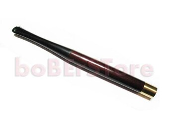 Sleek Cigarette Holder. Handmade 5.1'' / 130 mm. Fits .....Regular Cigarettes Brown Wood..... Limited Edition
