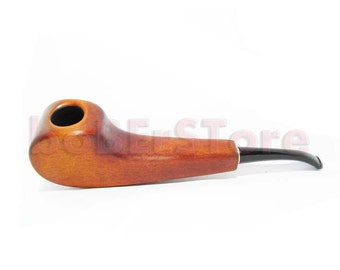 Exclusive Style Pear Root Tobacco Smoking Pipes Handmade. Hand Carved Fashionable Pipe - Best Price in FPS