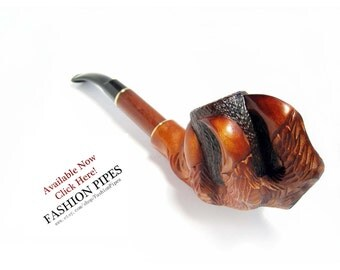 "Wow, Pipe CHURCHWARDEN ""DRAGON CLAWS"", Tobacco Pipe/Pipes-Smoking pipe. Extra Long Wooden Pipes-Wood Pipe Handcrafted Pipe & Free Gift"