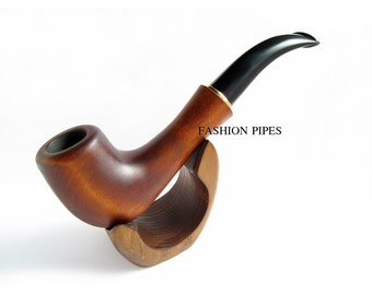 NEW Gift Set - Fashion QUEEN Pipe & Stand, Wooden Pipe, Tobacco pipe, Smoking Pipes/pipe, HANDCRAFTED Wooden, wood pipe Limited Edition