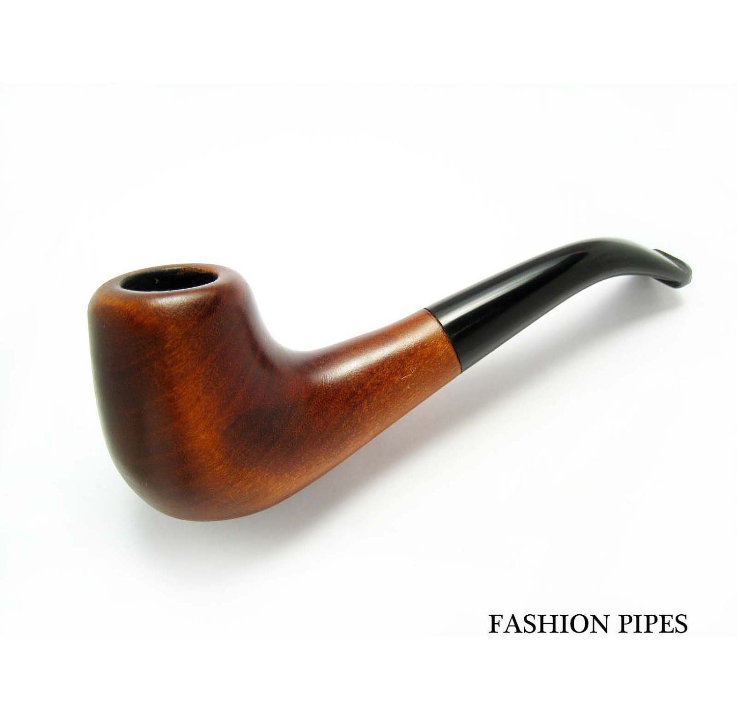 Handcrafted pipe 6 39 39 wooden pipe wood pipe tobacco by for Pipe in pipe plumbing