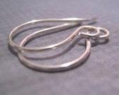 5 pairs  handmade Earwires sterling silver